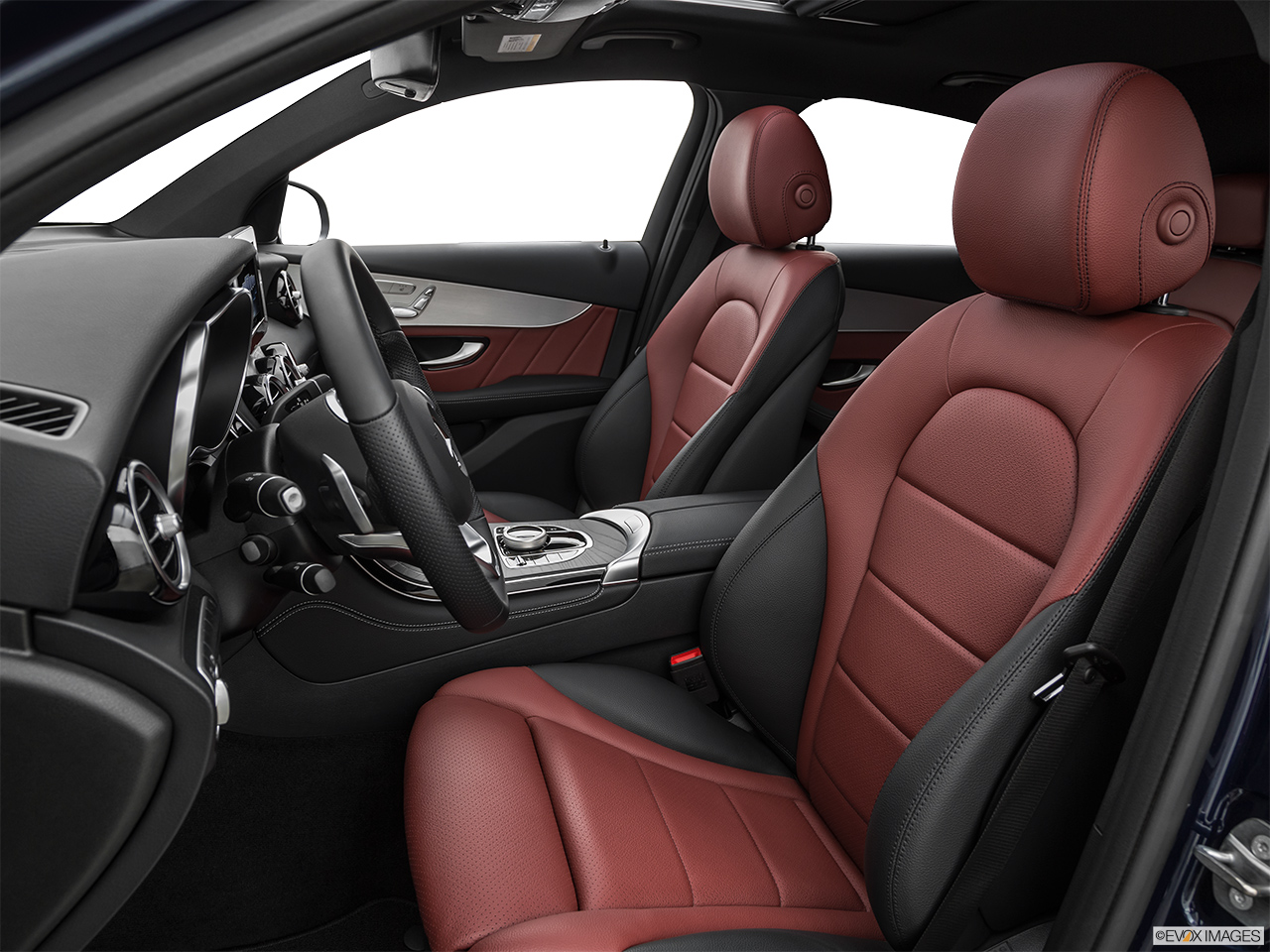 2019 Mercedes-Benz GLC-Class Coupe GLC 300 4MATIC Front seats from Drivers Side.