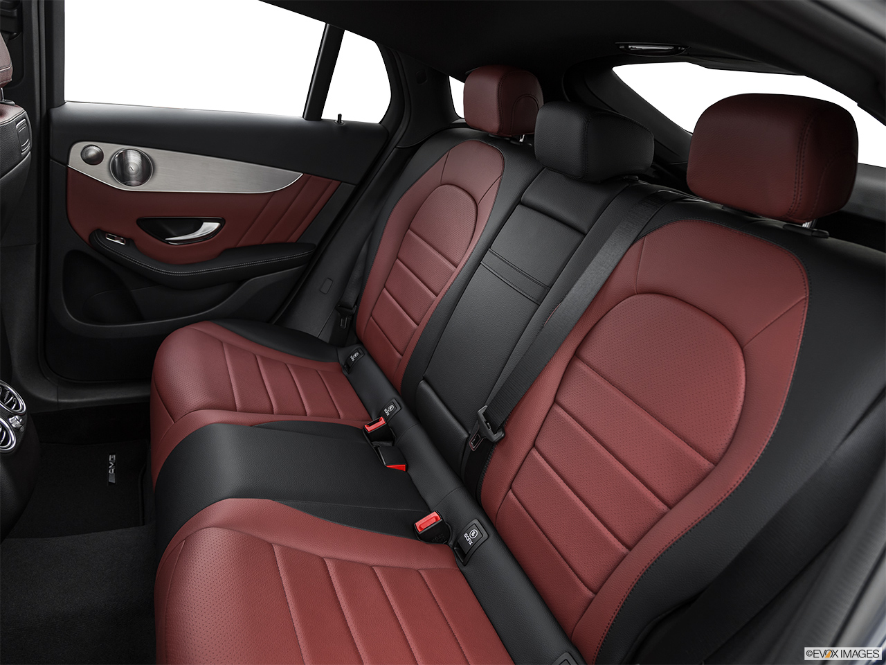 2019 Mercedes-Benz GLC-Class Coupe GLC 300 4MATIC Rear seats from Drivers Side.