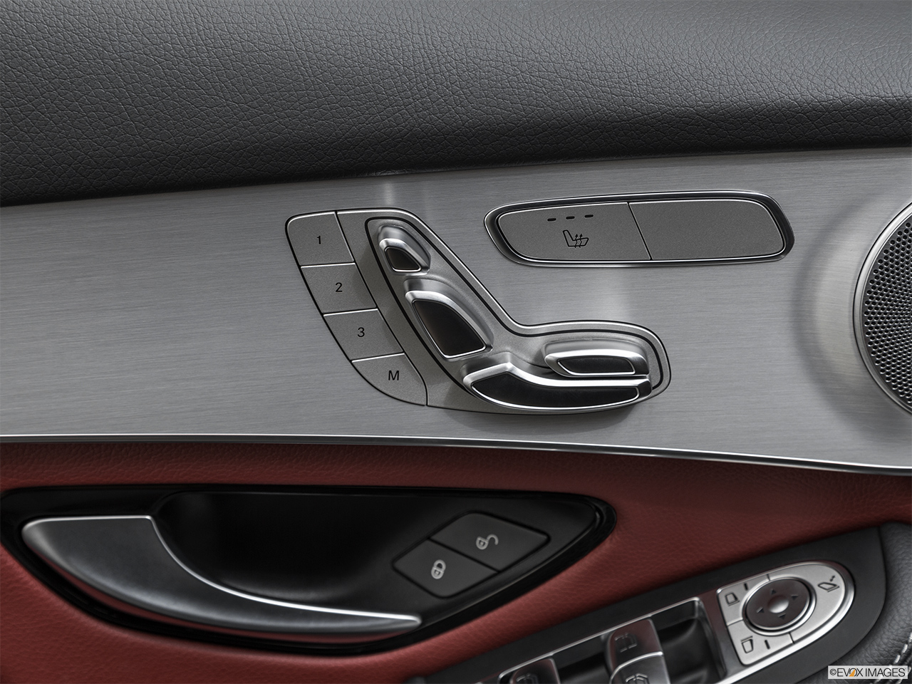 2019 Mercedes-Benz GLC-Class Coupe GLC 300 4MATIC Seat Adjustment Controllers.