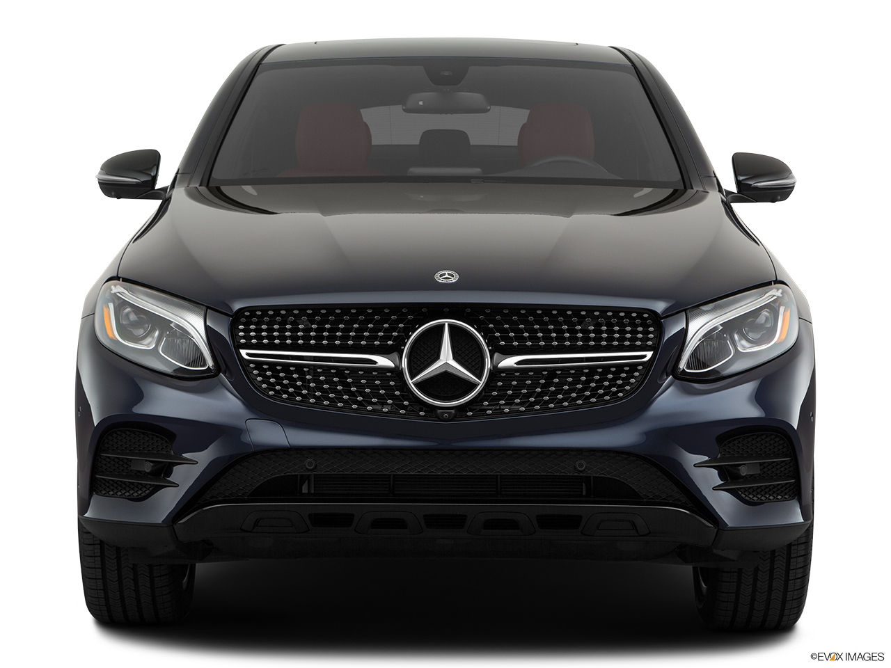 2019 Mercedes-Benz GLC-Class Coupe GLC 300 4MATIC Low/wide front.