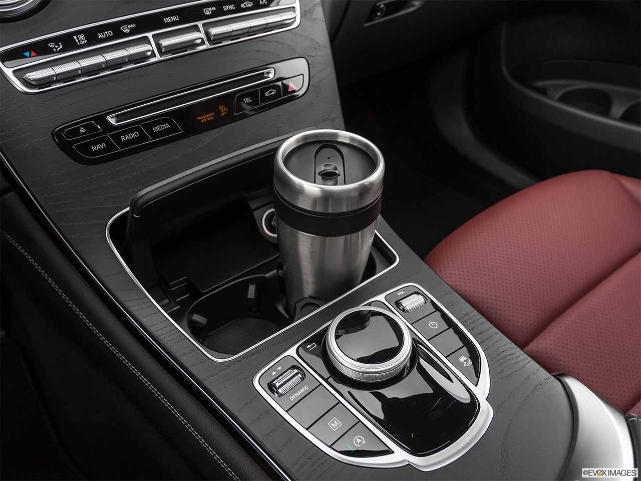 2019 Mercedes-Benz GLC-Class Coupe GLC 300 4MATIC Cup holder prop (primary).