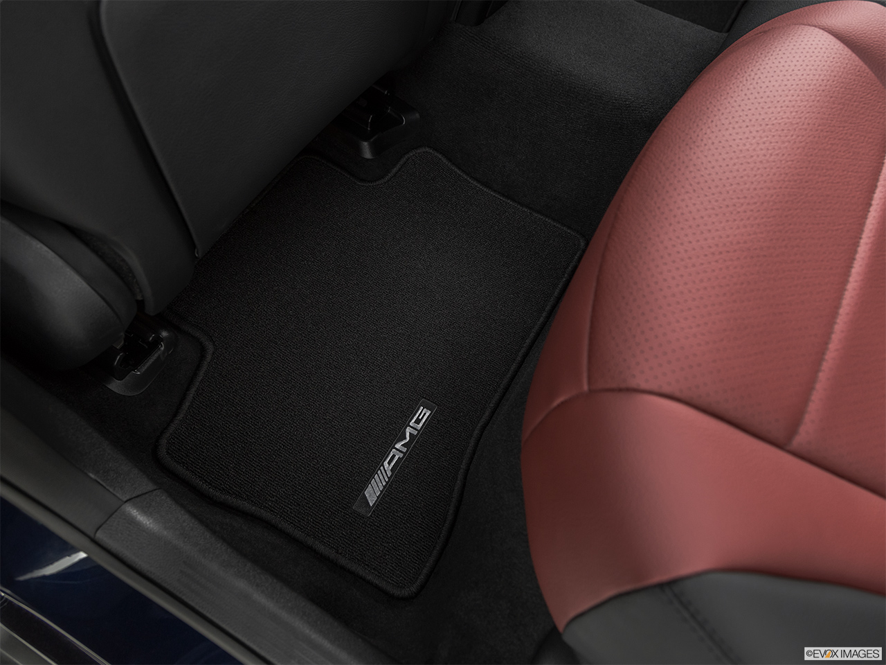 2019 Mercedes-Benz GLC-Class Coupe GLC 300 4MATIC Rear driver's side floor mat. Mid-seat level from outside looking in.