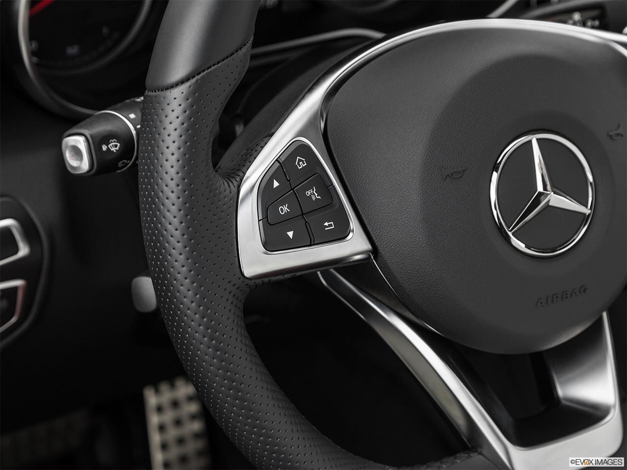 2019 Mercedes-Benz GLC-Class Coupe GLC 300 4MATIC Steering Wheel Controls (Left Side)