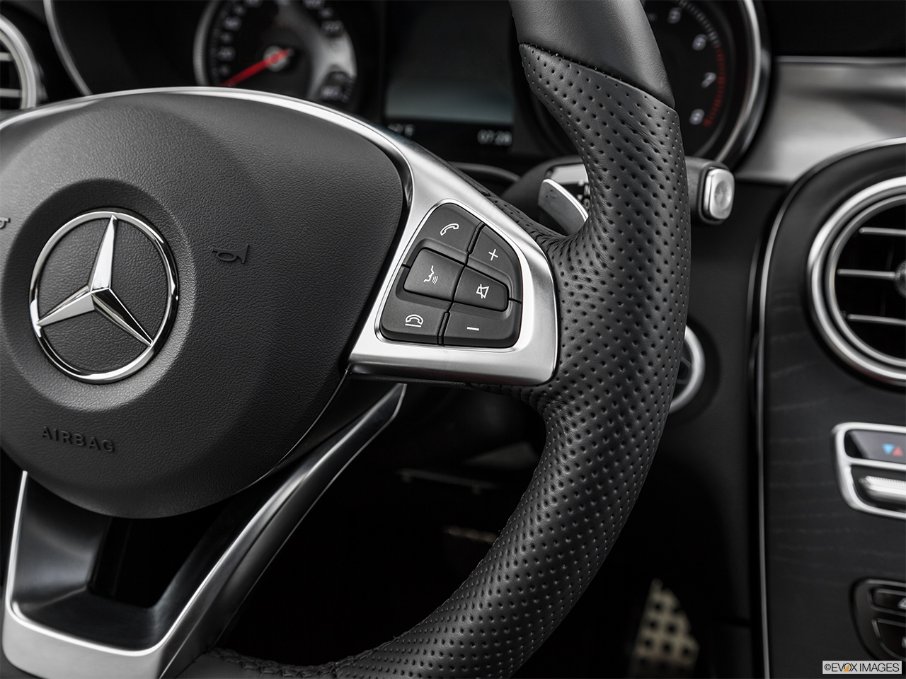 2019 Mercedes-Benz GLC-Class Coupe GLC 300 4MATIC Steering Wheel Controls (Right Side)
