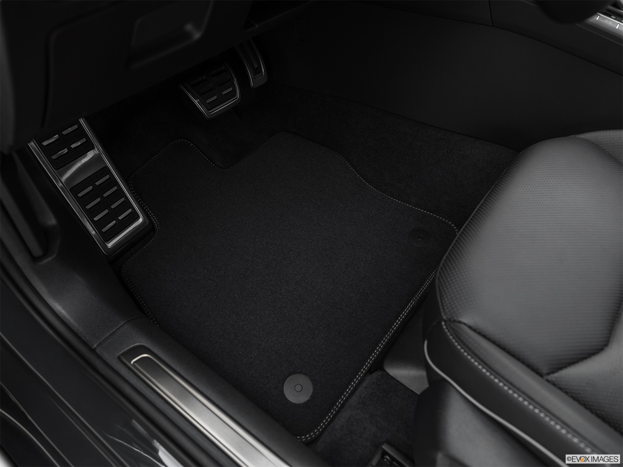2019 Volkswagen Arteon SEL Premium  R-Line Driver's floor mat and pedals. Mid-seat level from outside looking in.