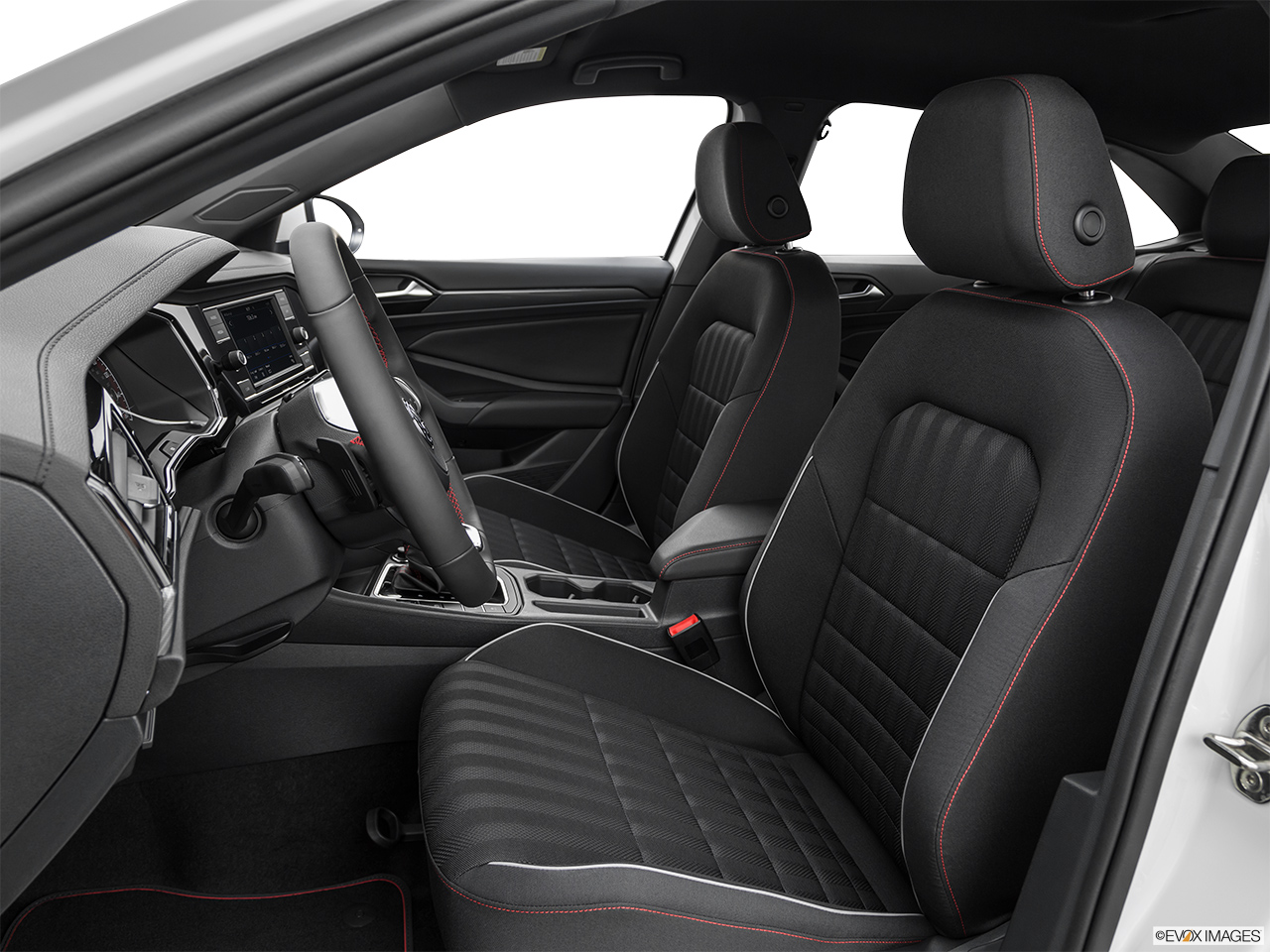 2019 Volkswagen Jetta GLI S Front seats from Drivers Side.