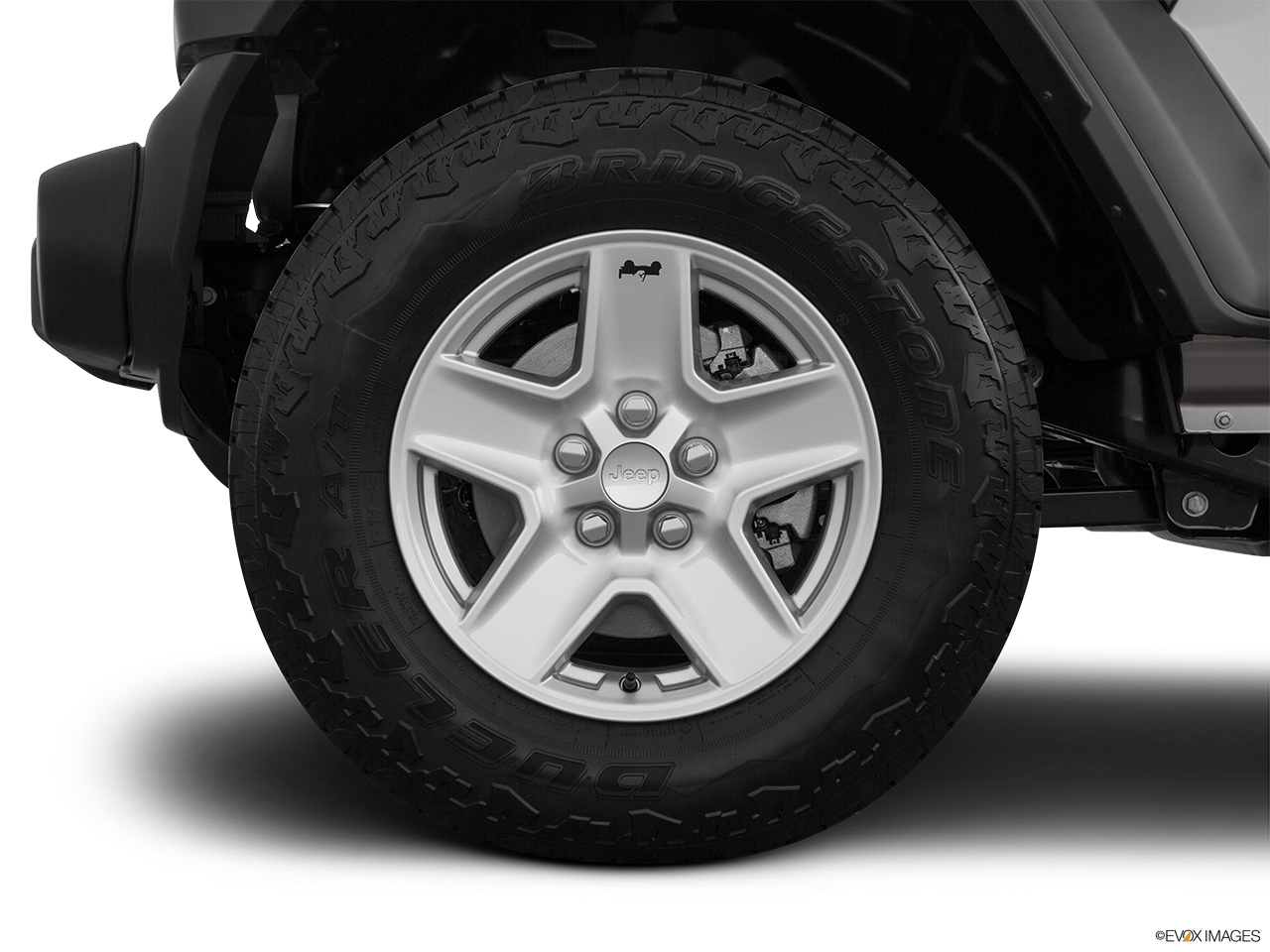 2020 Jeep Gladiator Sport S Front Drivers side wheel at profile.