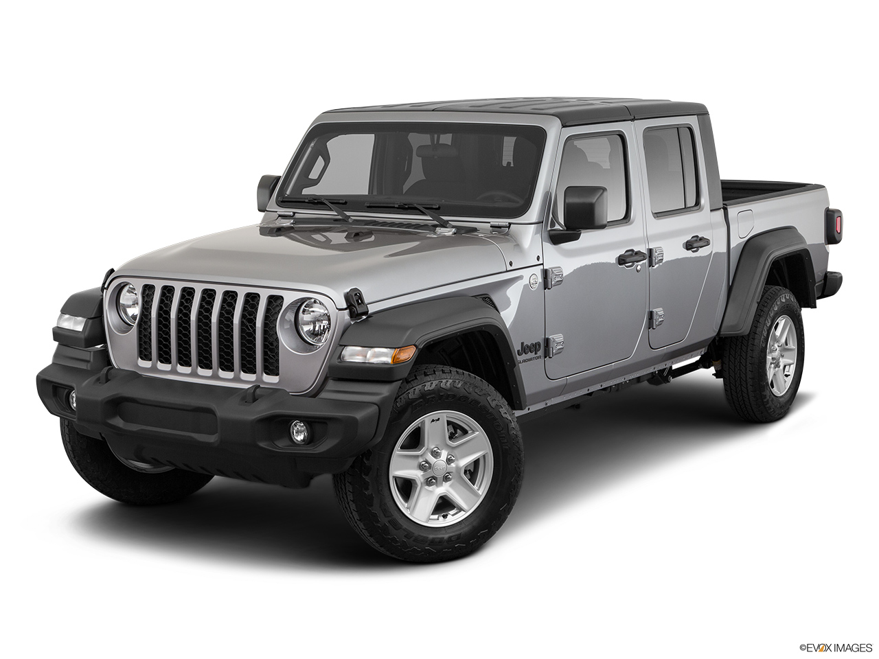 2020 Jeep Gladiator Sport S Front angle view.