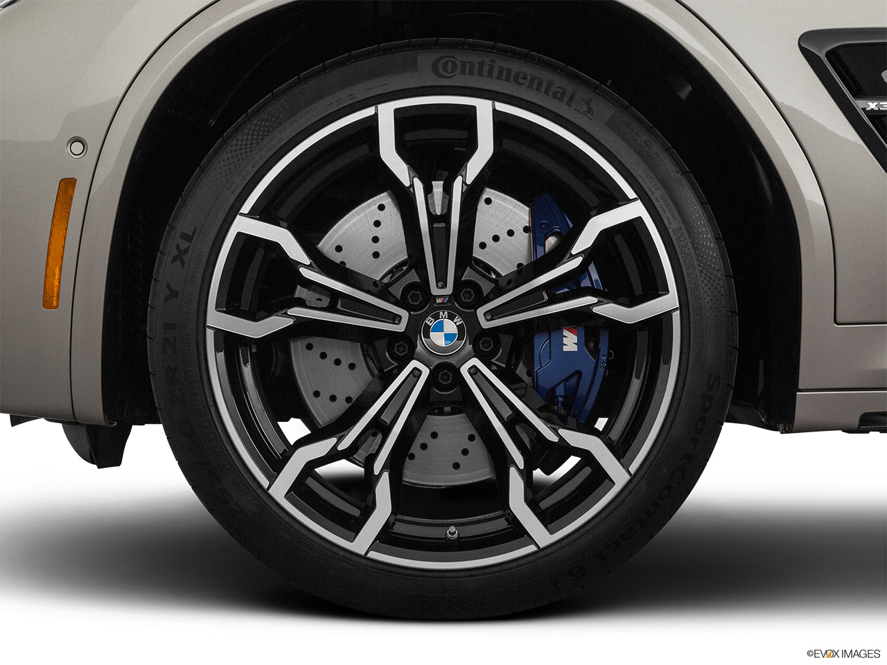 2020 BMW X3 M Competition Front Drivers side wheel at profile.