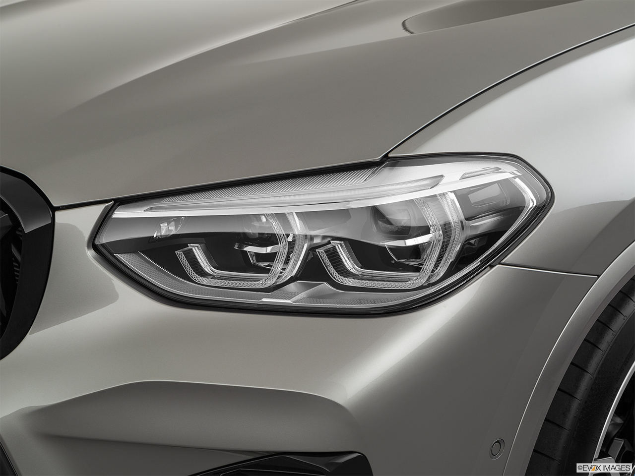 2020 BMW X3 M Competition Drivers Side Headlight.