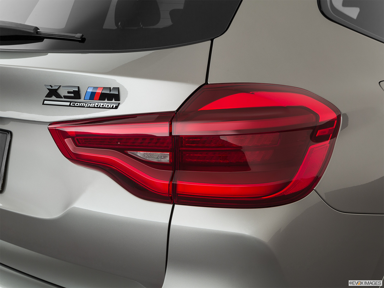 2020 BMW X3 M Competition Passenger Side Taillight.