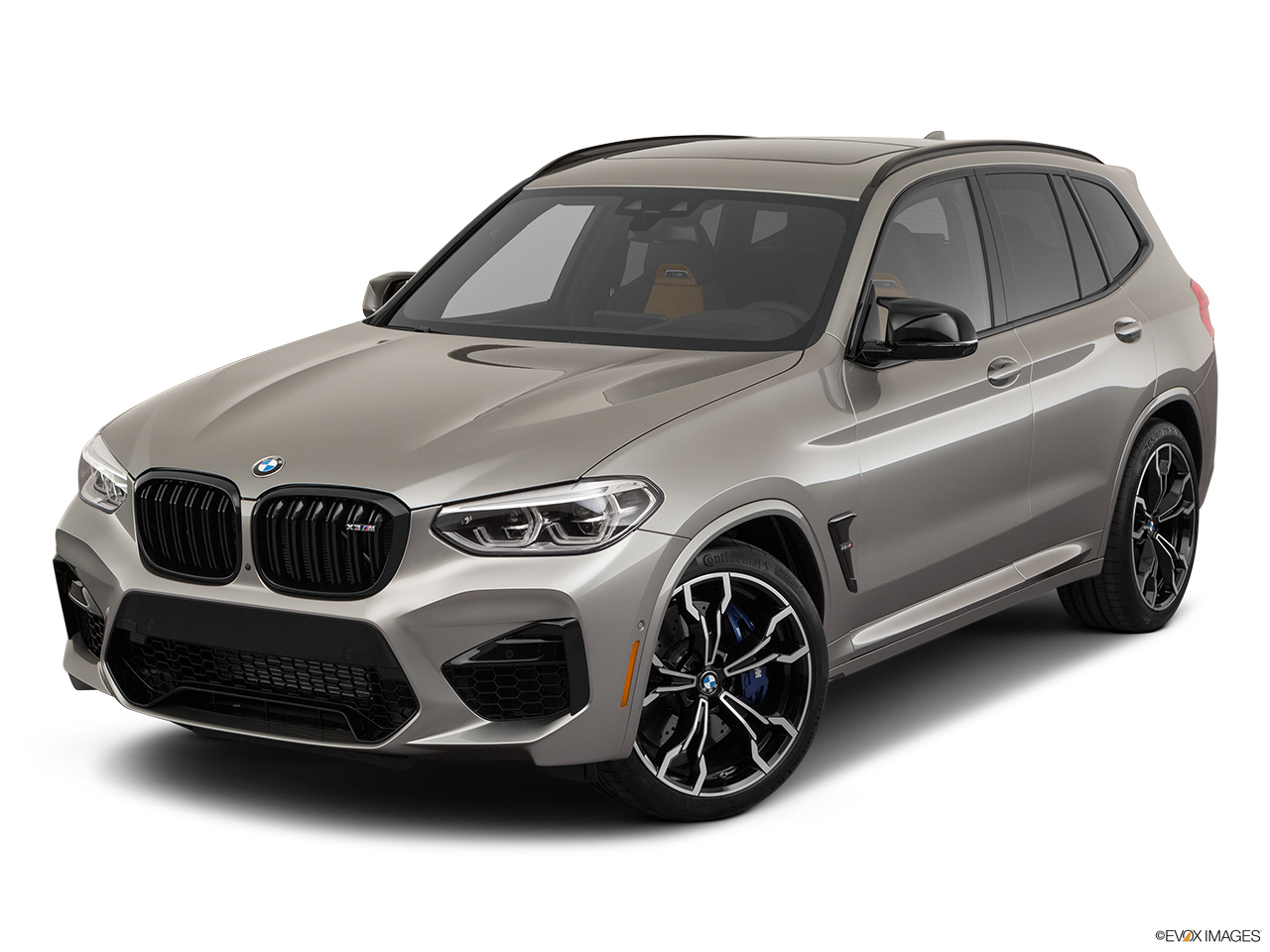 2020 BMW X3 M Competition Front angle view.