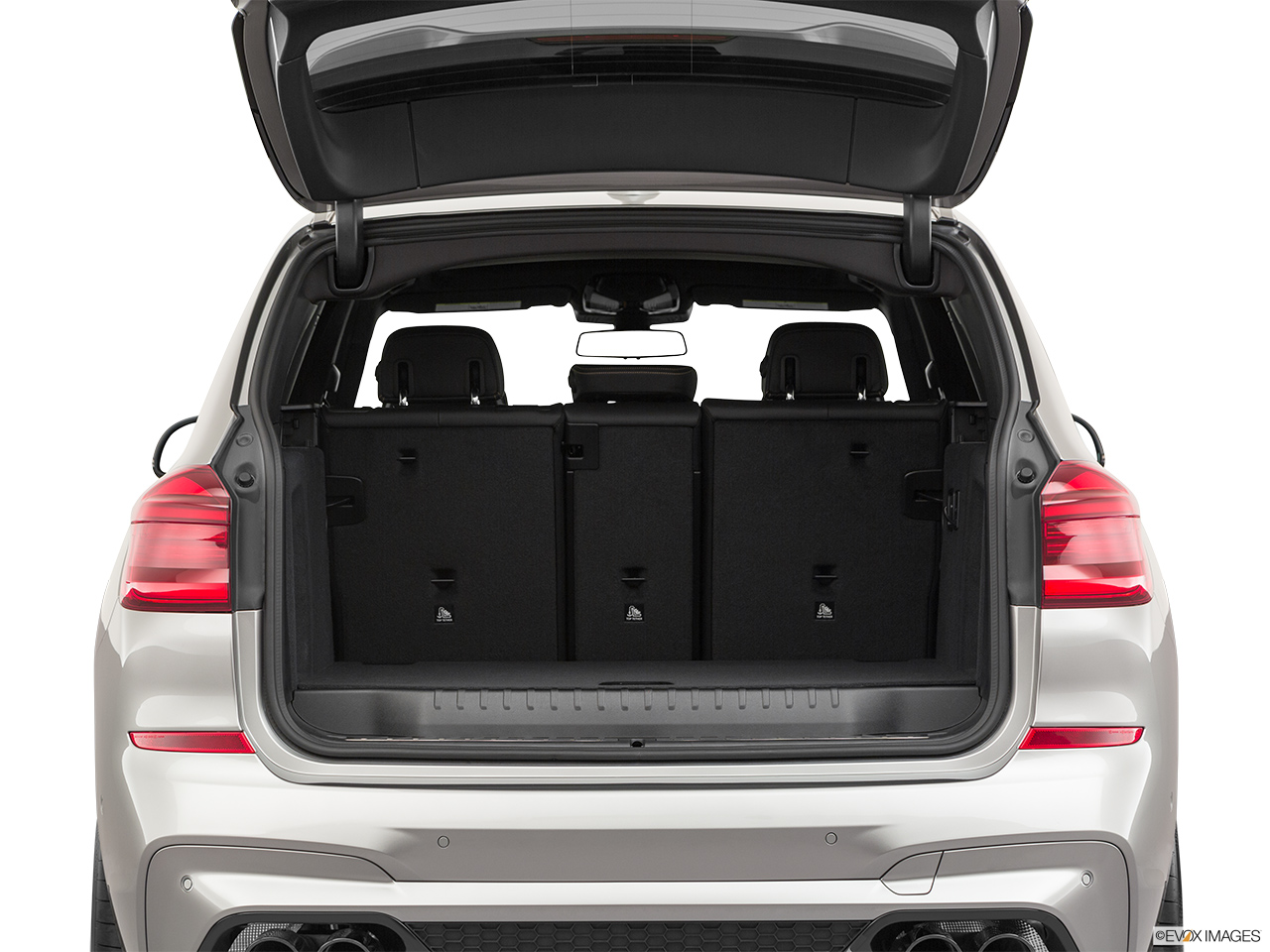 2020 BMW X3 M Competition Trunk open.