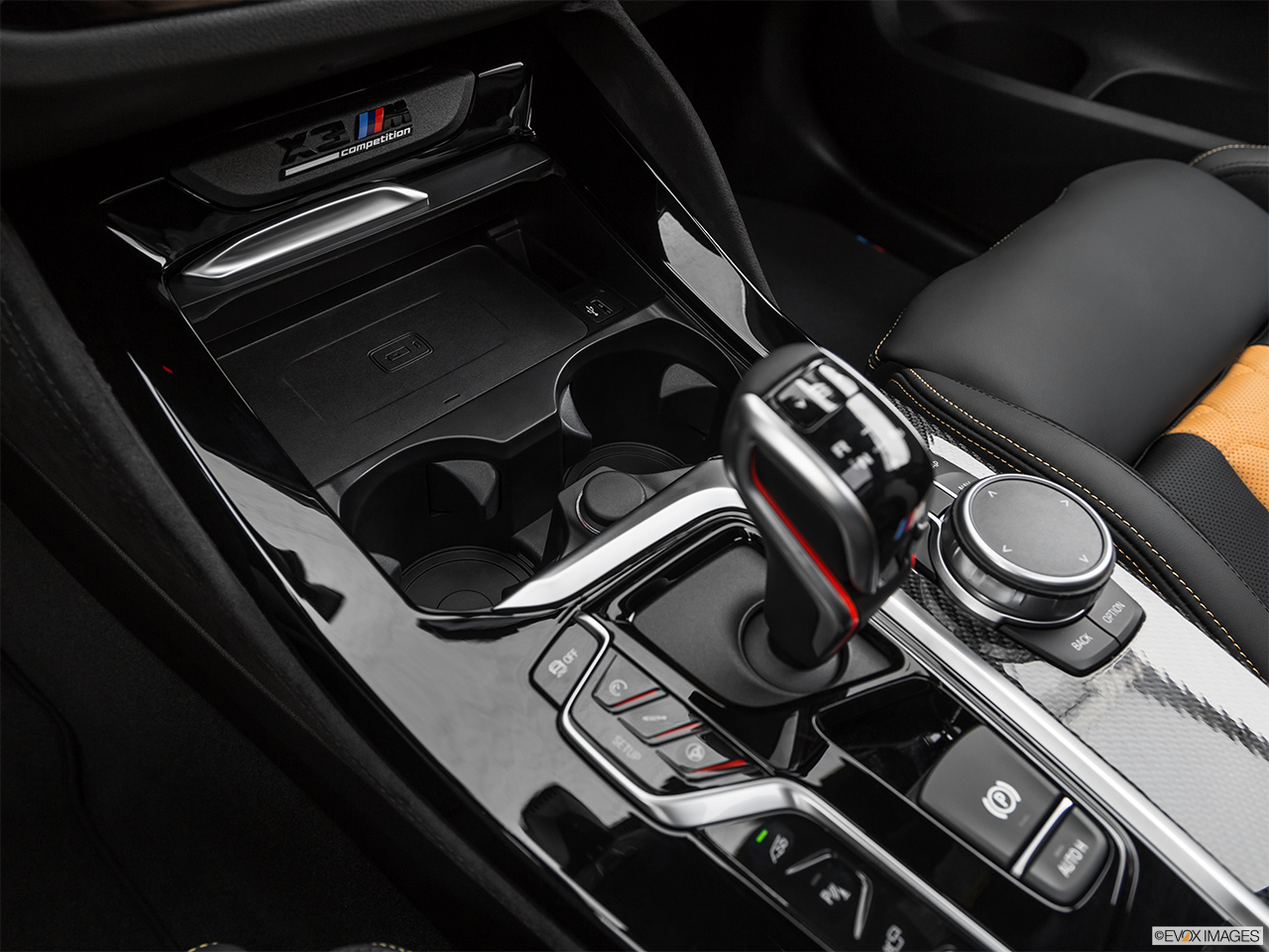 2020 BMW X3 M Competition Cup holders.