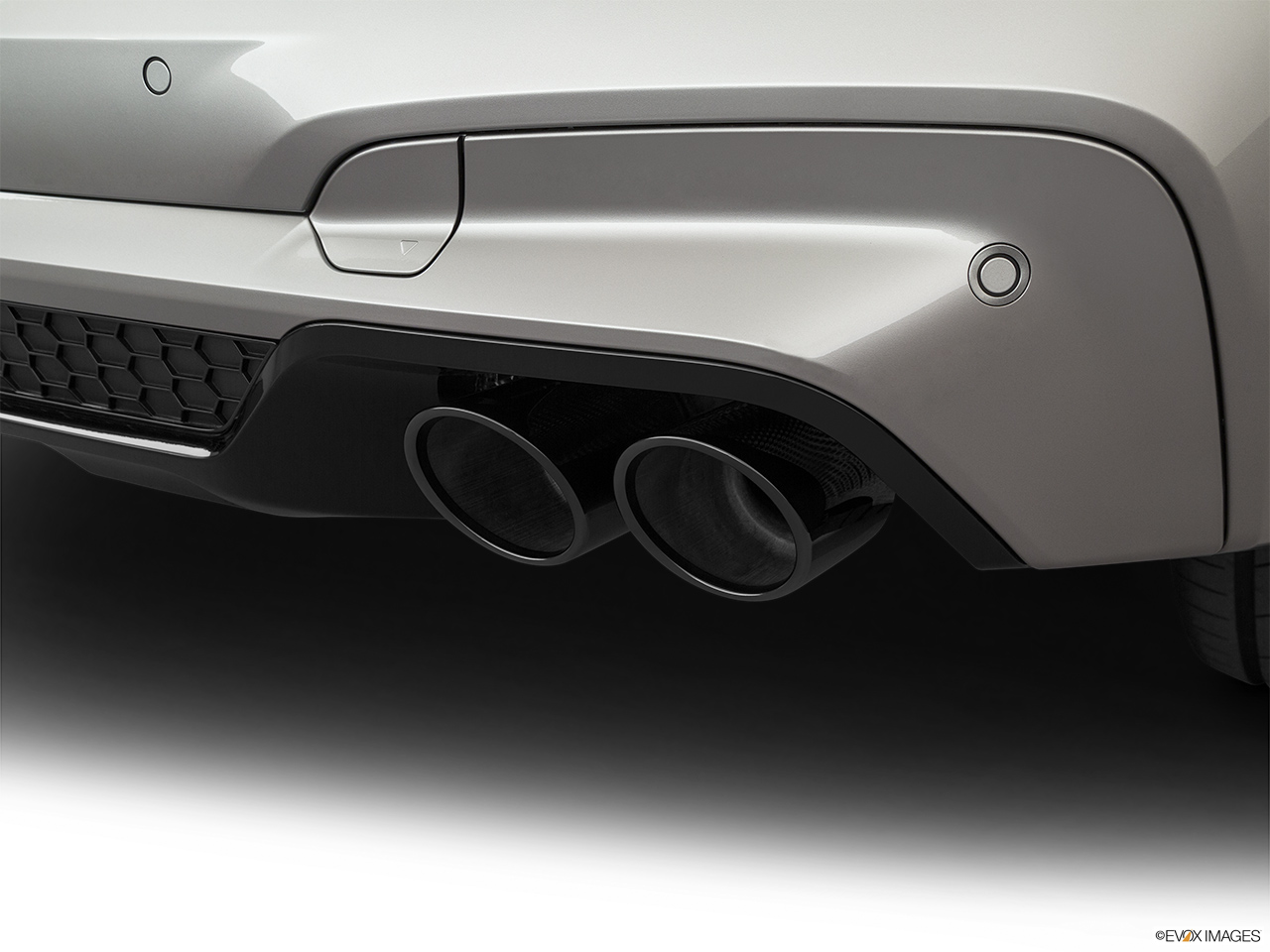 2020 BMW X3 M Competition Chrome tip exhaust pipe.