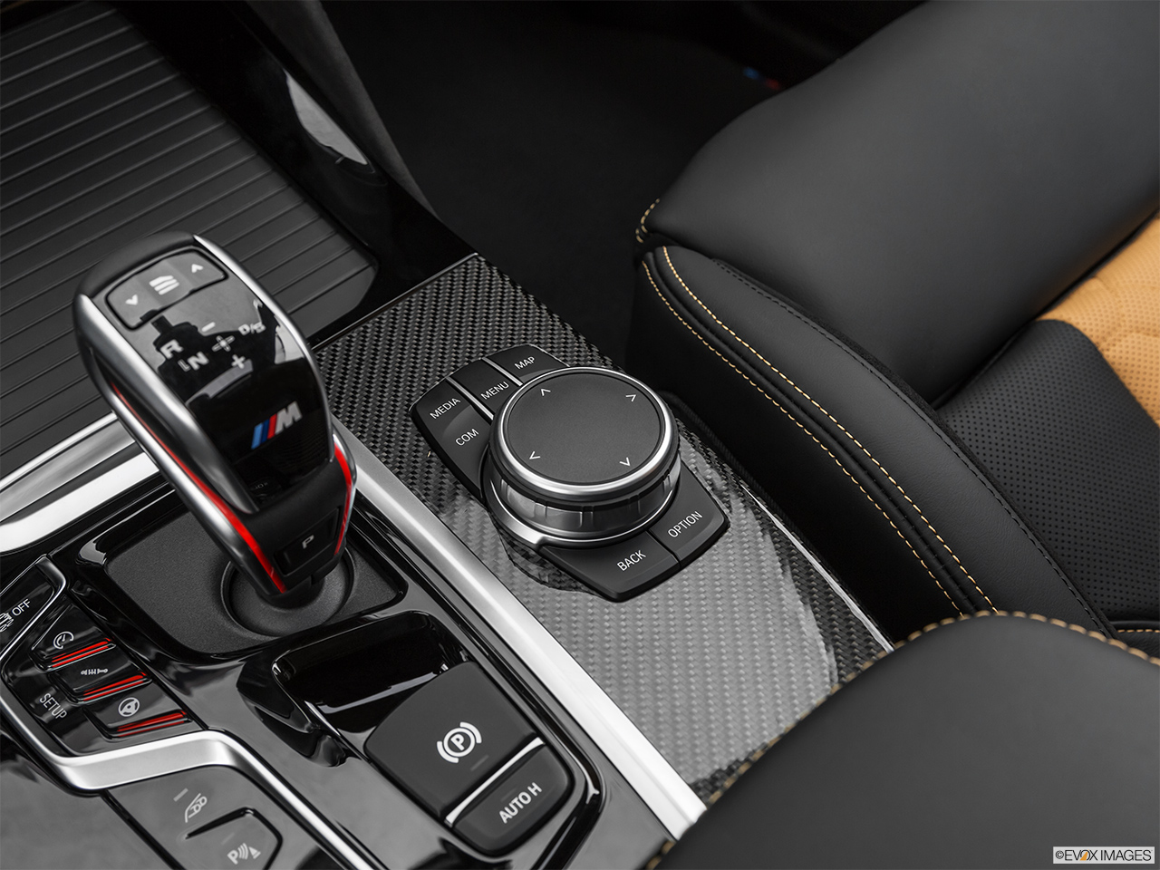 2020 BMW X3 M Competition System Controls.