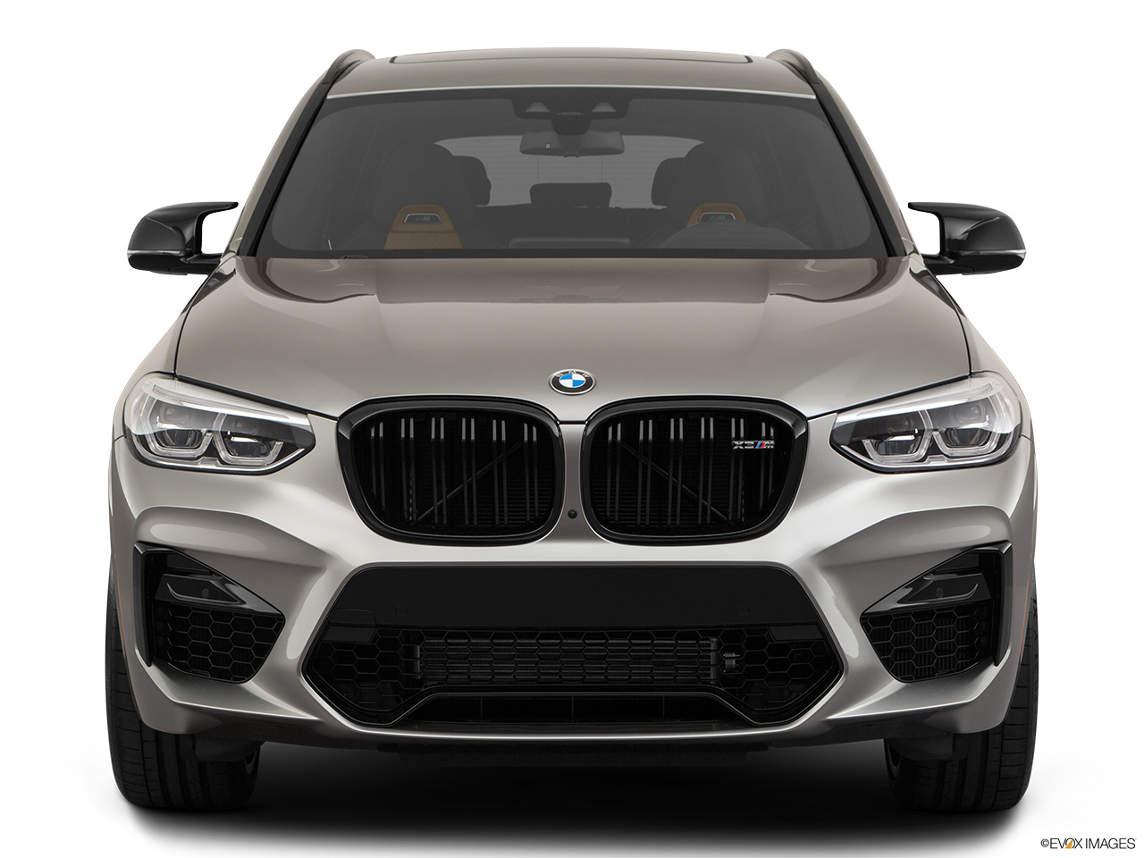 2020 BMW X3 M Competition Low/wide front.