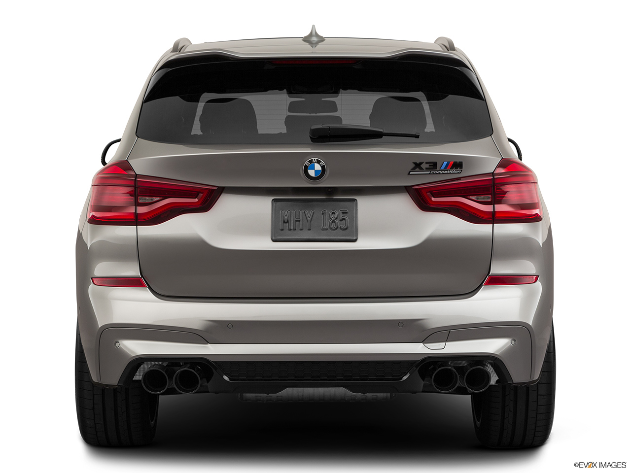 2020 BMW X3 M Competition Low/wide rear.