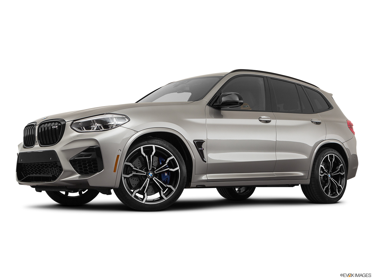 2020 BMW X3 M Competition Low/wide front 5/8.