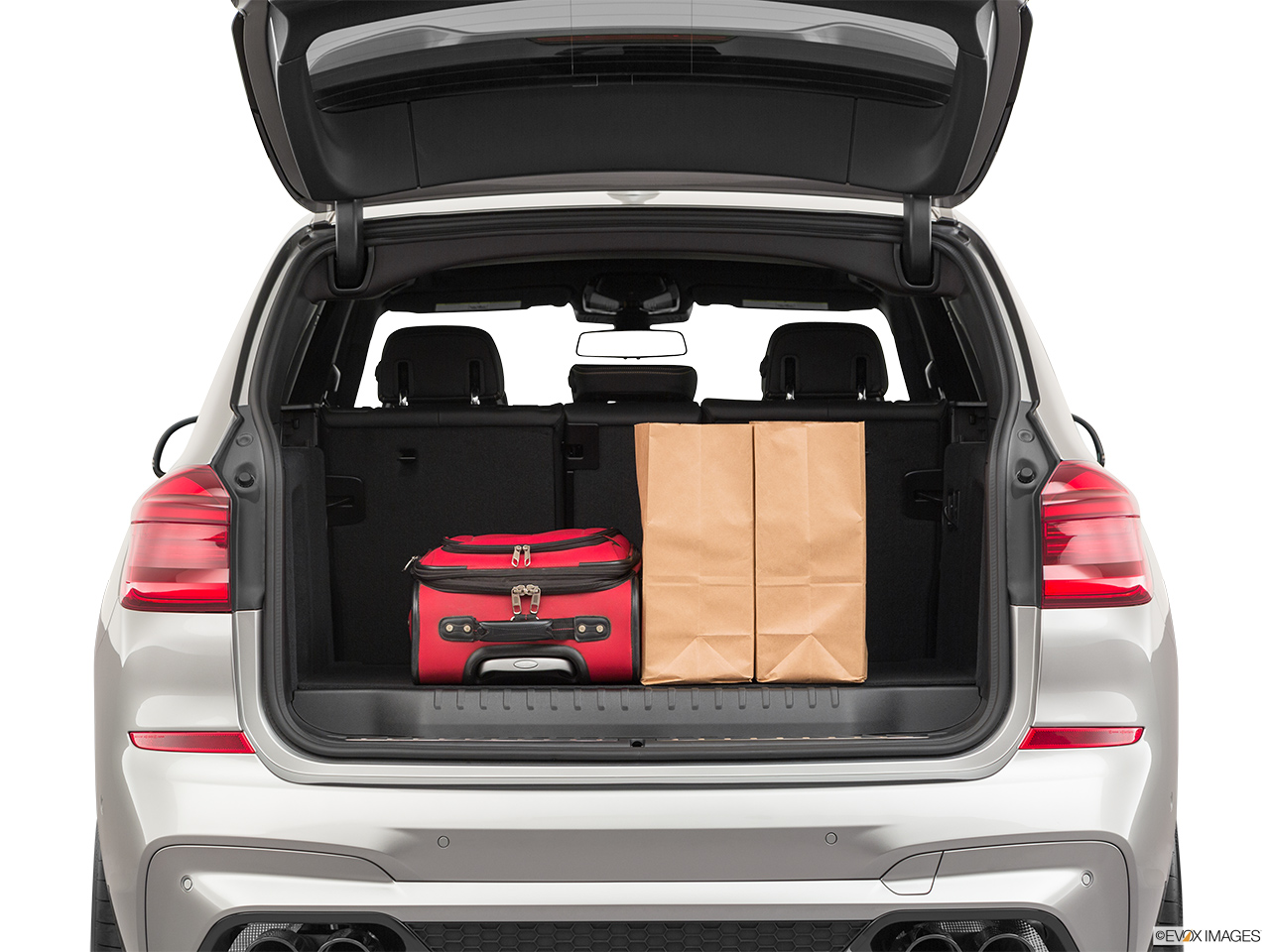 2020 BMW X3 M Competition Trunk props.