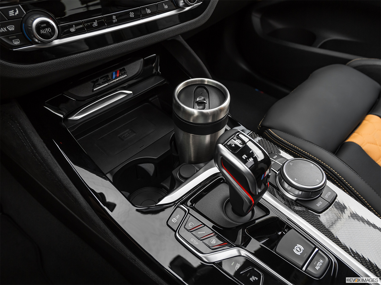 2020 BMW X3 M Competition Cup holder prop (primary).