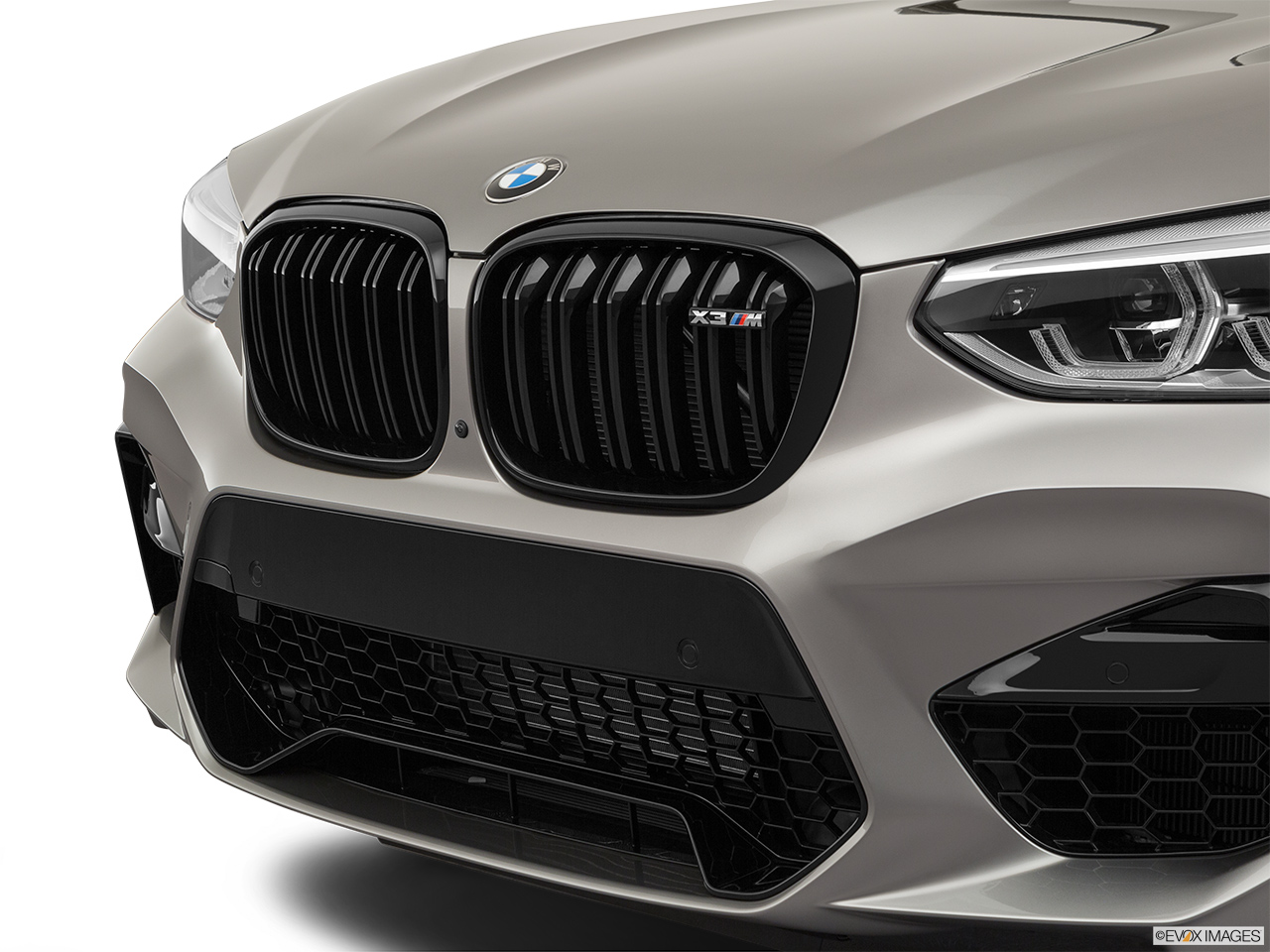 2020 BMW X3 M Competition Close up of Grill.