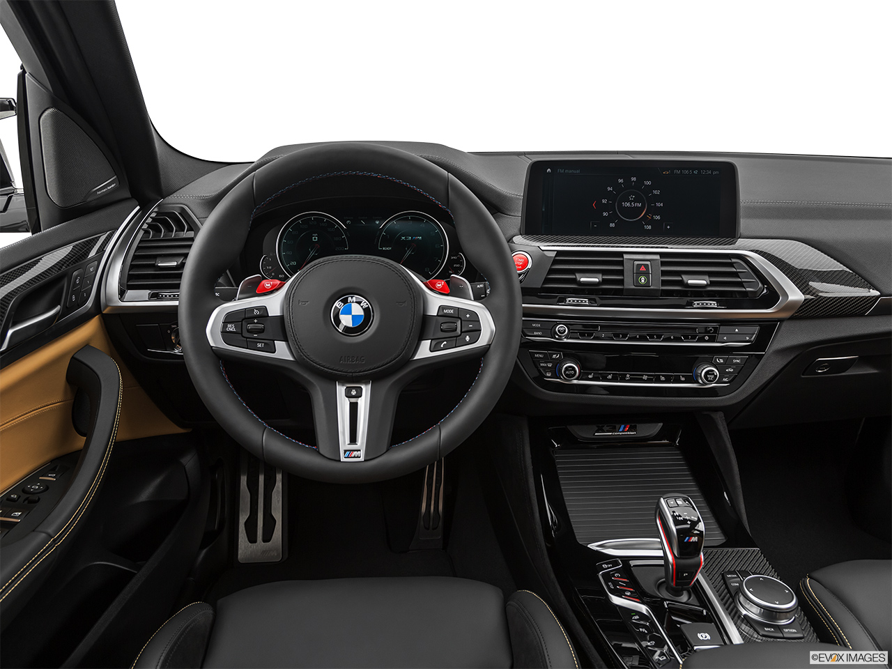 2020 BMW X3 M Competition Steering wheel/Center Console.