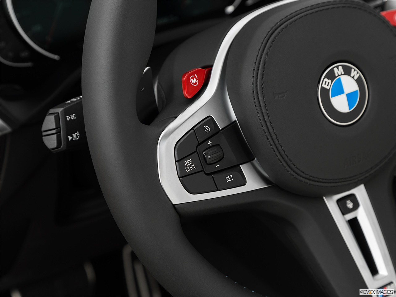 2020 BMW X3 M Competition Steering Wheel Controls (Left Side)
