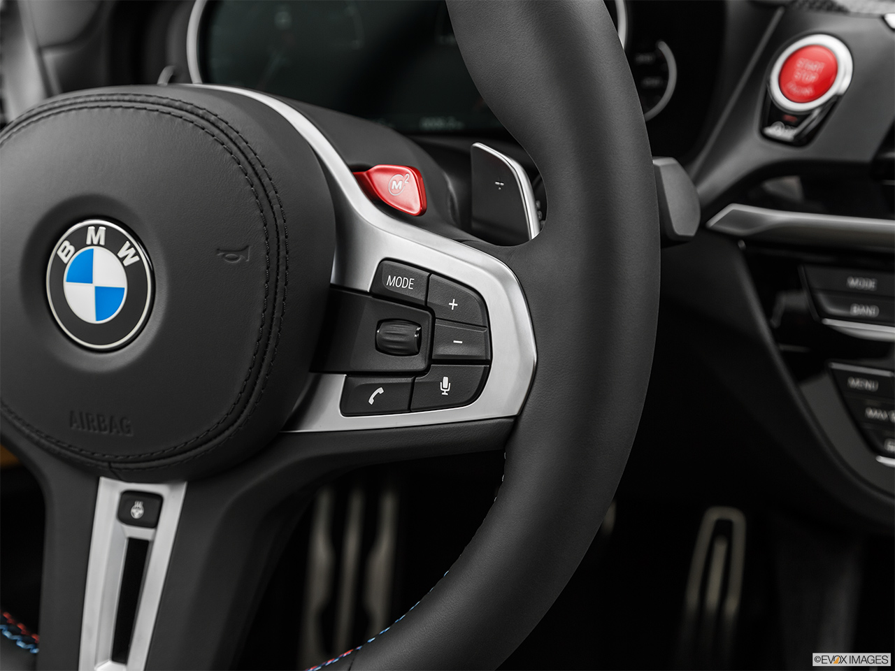 2020 BMW X3 M Competition Steering Wheel Controls (Right Side)
