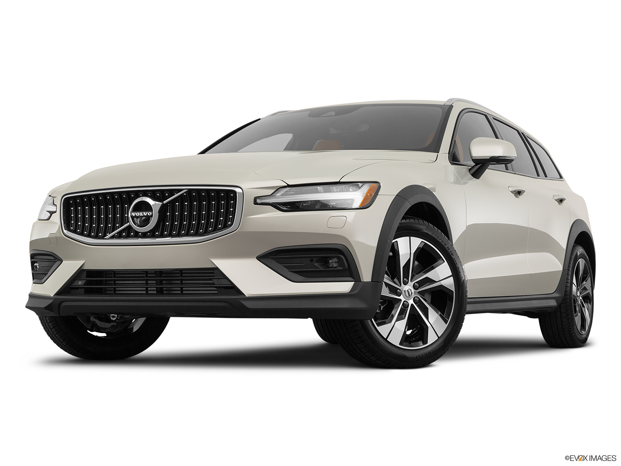 2020 Volvo V60 Cross Country T5 AWD Front angle view, low wide perspective.