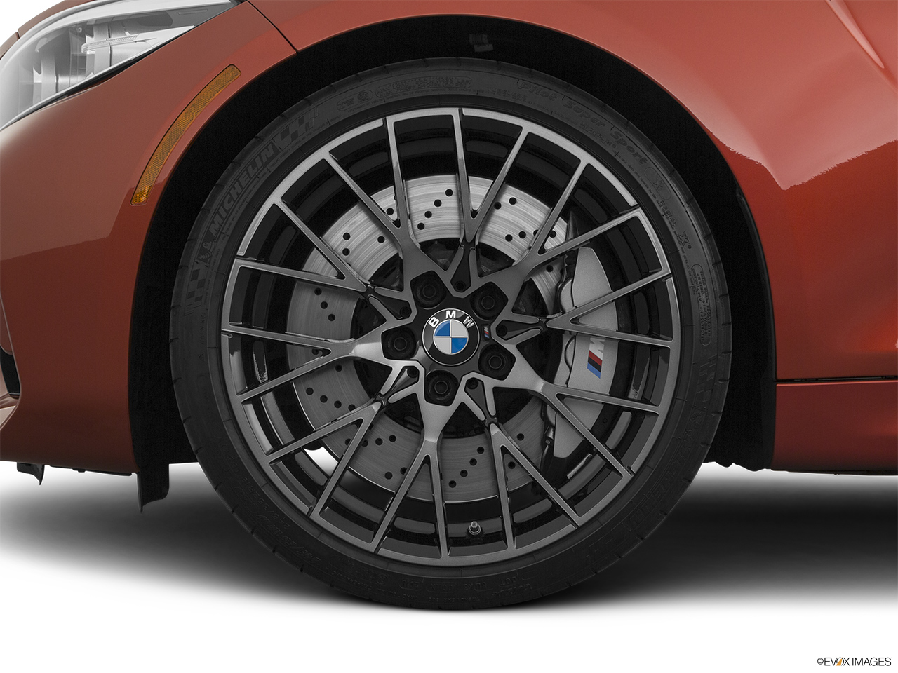 2020 BMW M2 Competition Front Drivers side wheel at profile.