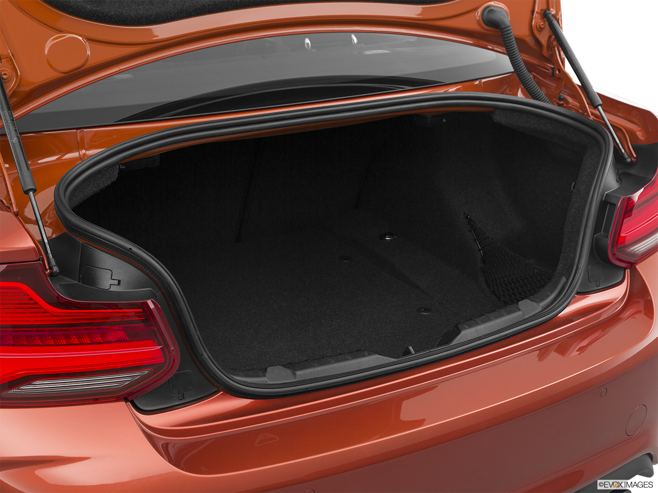 2020 BMW M2 Competition Trunk open.