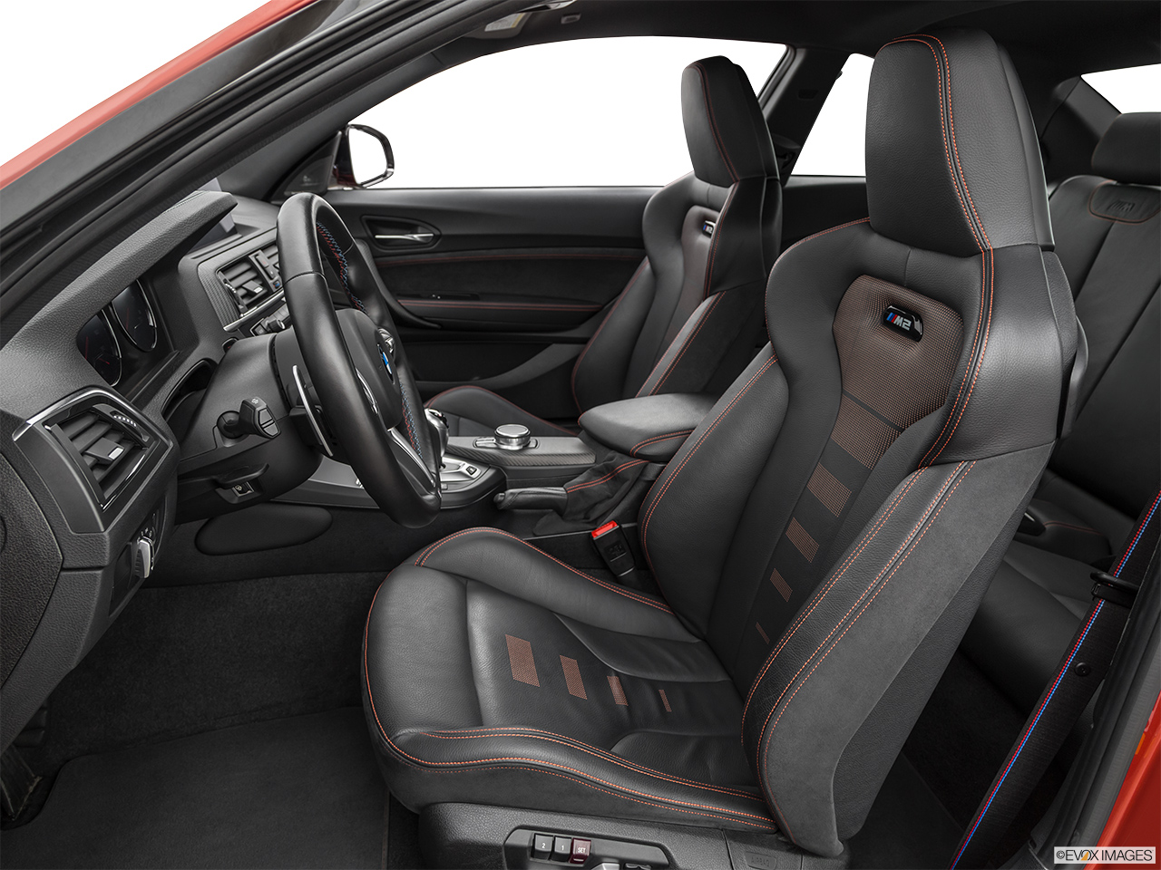 2020 BMW M2 Competition Front seats from Drivers Side.