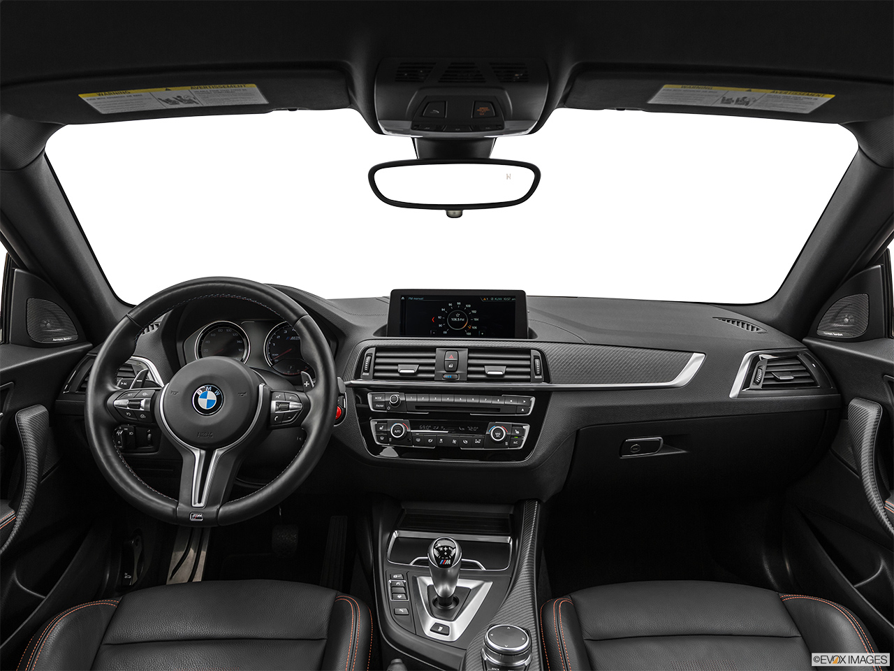 2020 BMW M2 Competition Centered wide dash shot
