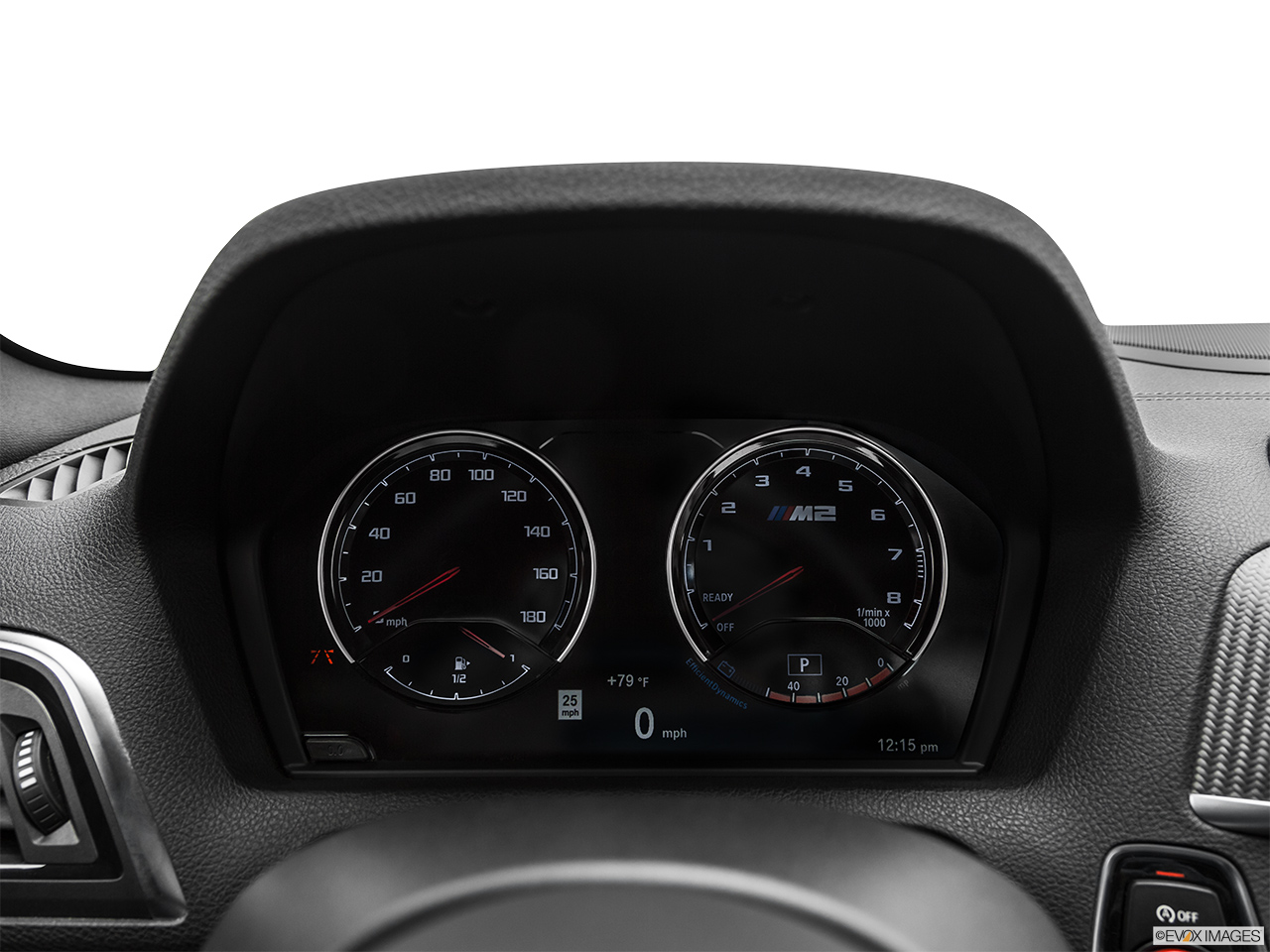 2020 BMW M2 Competition Speedometer/tachometer.