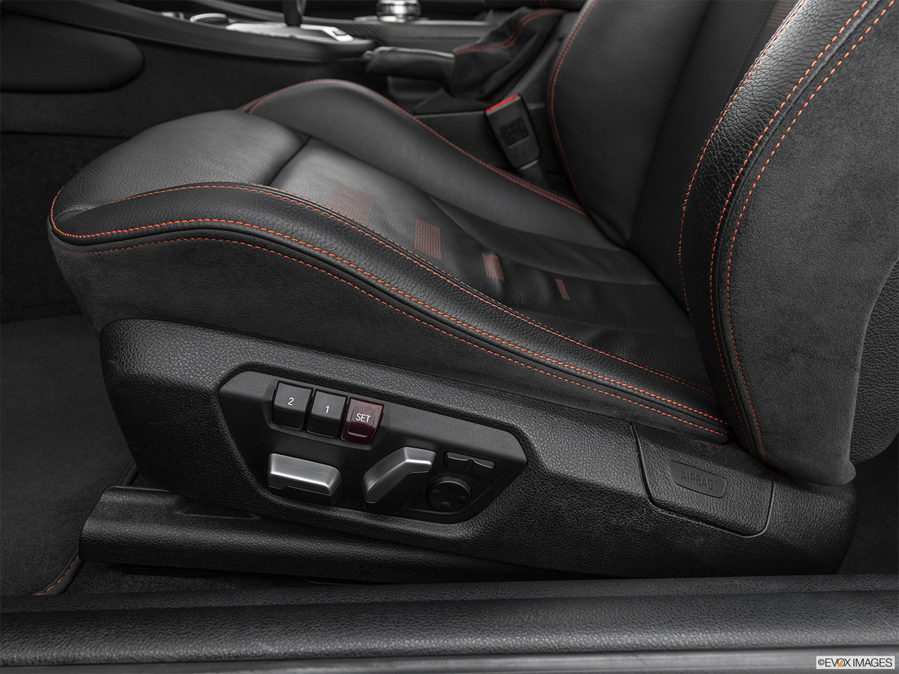 2020 BMW M2 Competition Seat Adjustment Controllers.
