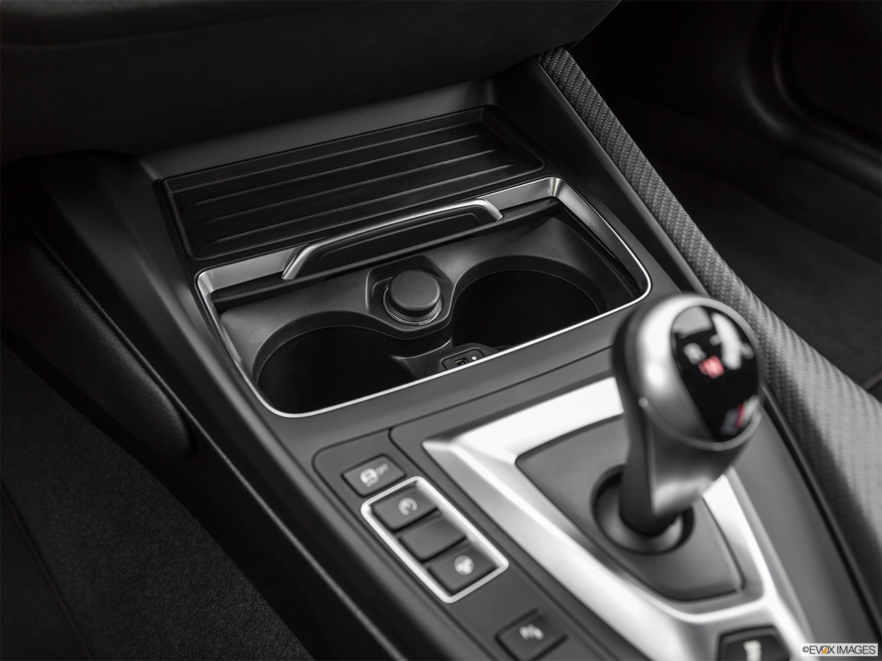 2020 BMW M2 Competition Cup holders.