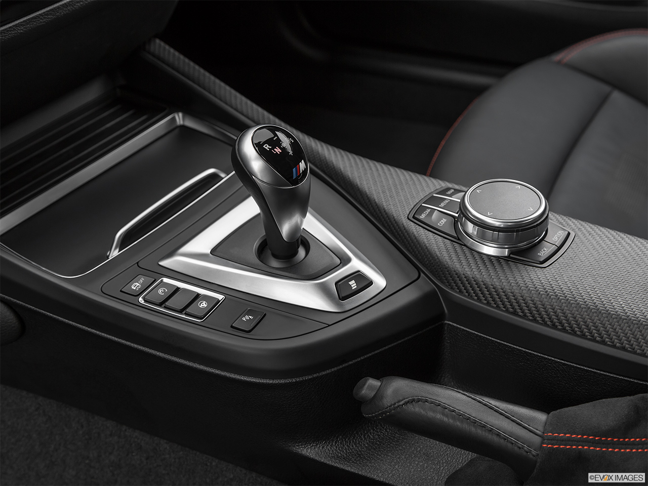 2020 BMW M2 Competition Gear shifter/center console.