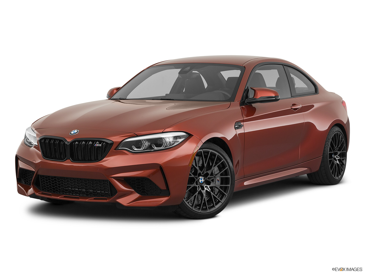 2020 BMW M2 Competition Front angle medium view.