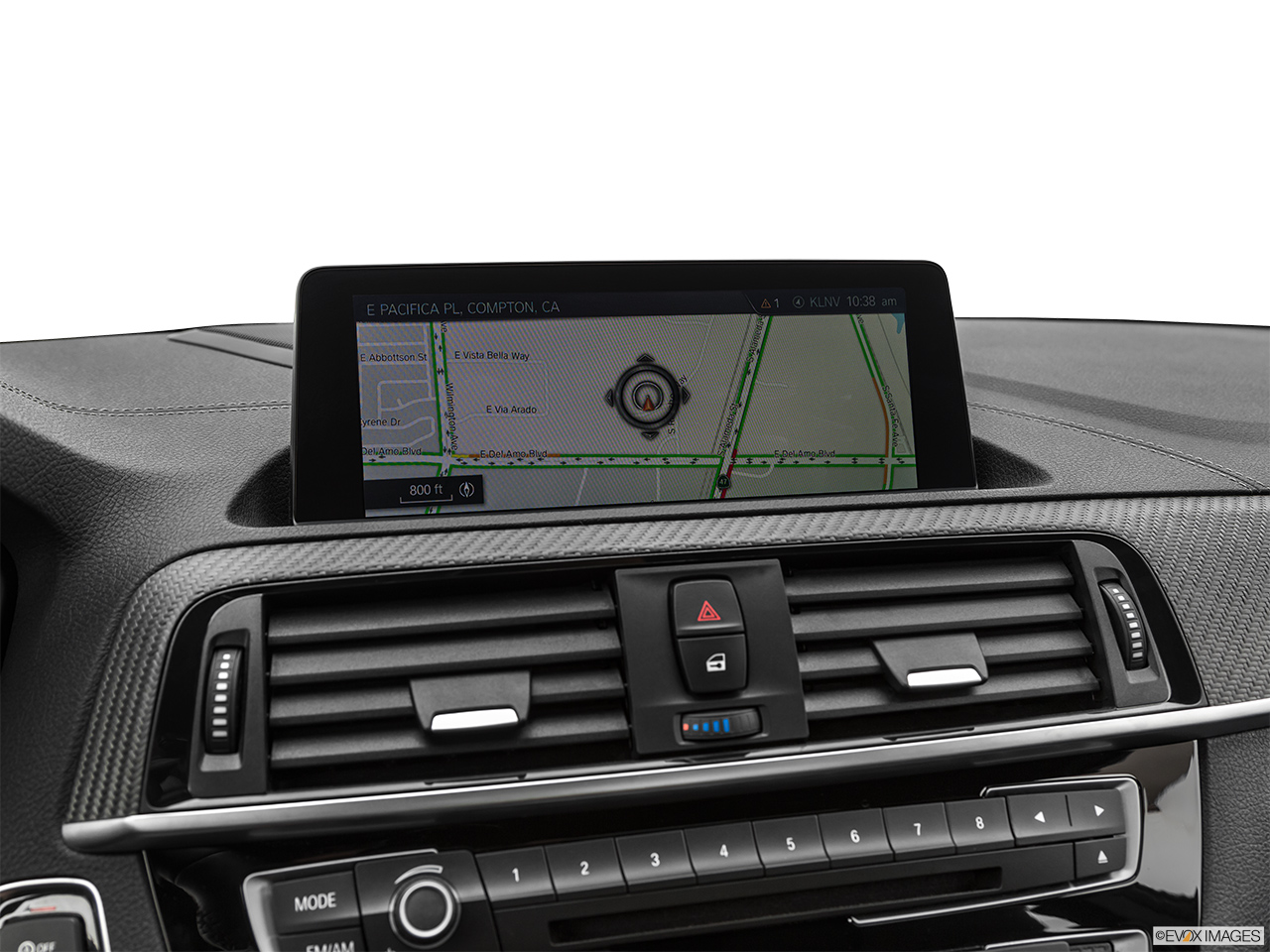 2020 BMW M2 Competition Driver position view of navigation system.