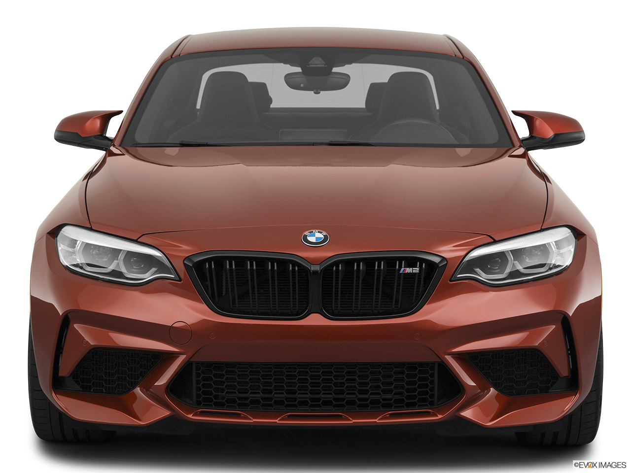 2020 BMW M2 Competition Low/wide front.