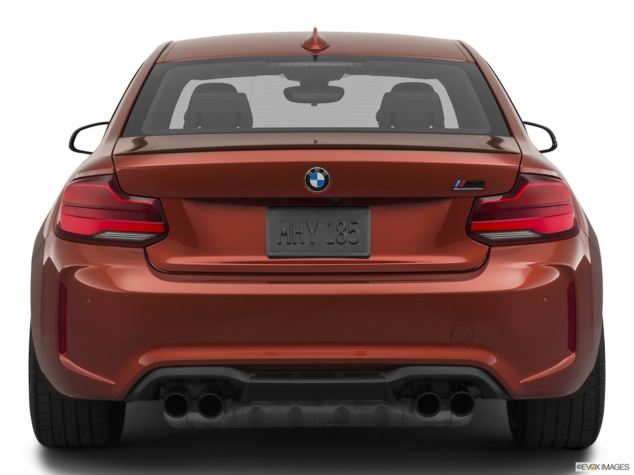 2020 BMW M2 Competition Low/wide rear.