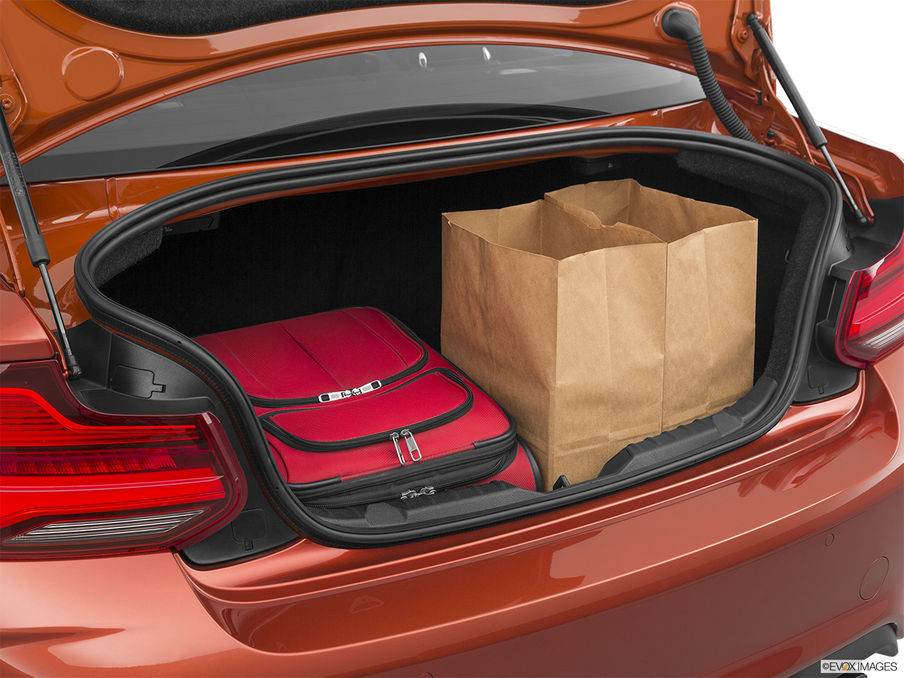 2020 BMW M2 Competition Trunk props.