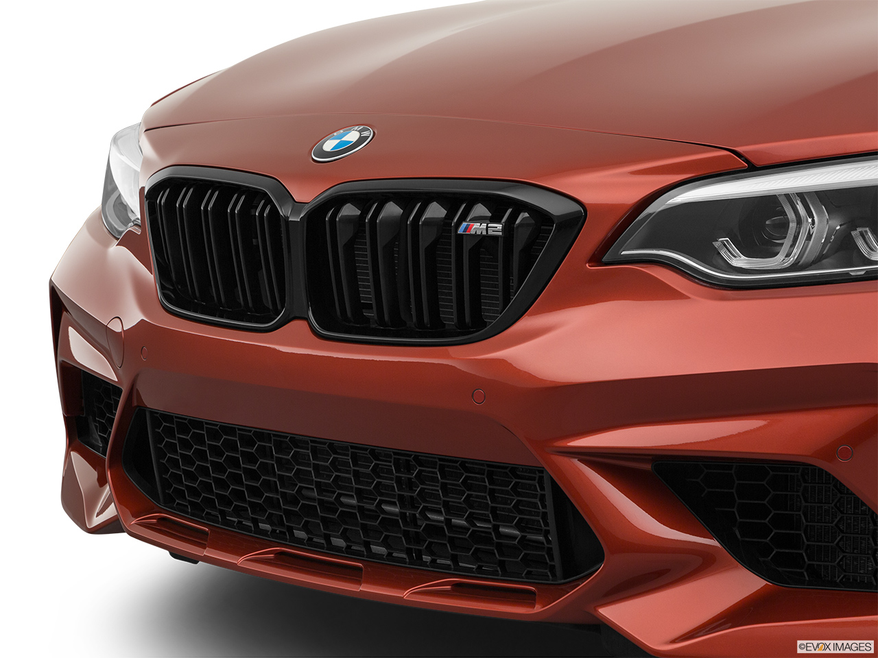 2020 BMW M2 Competition Close up of Grill.