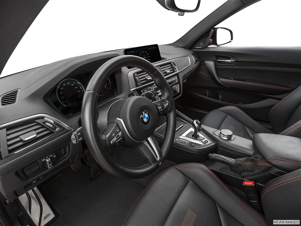 2020 BMW M2 Competition Interior Hero (driver's side).