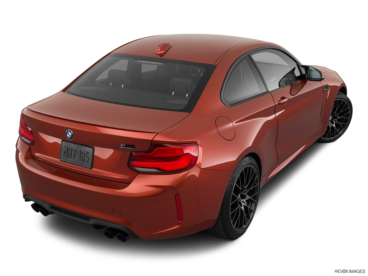 2020 BMW M2 Competition Rear 3/4 angle view.