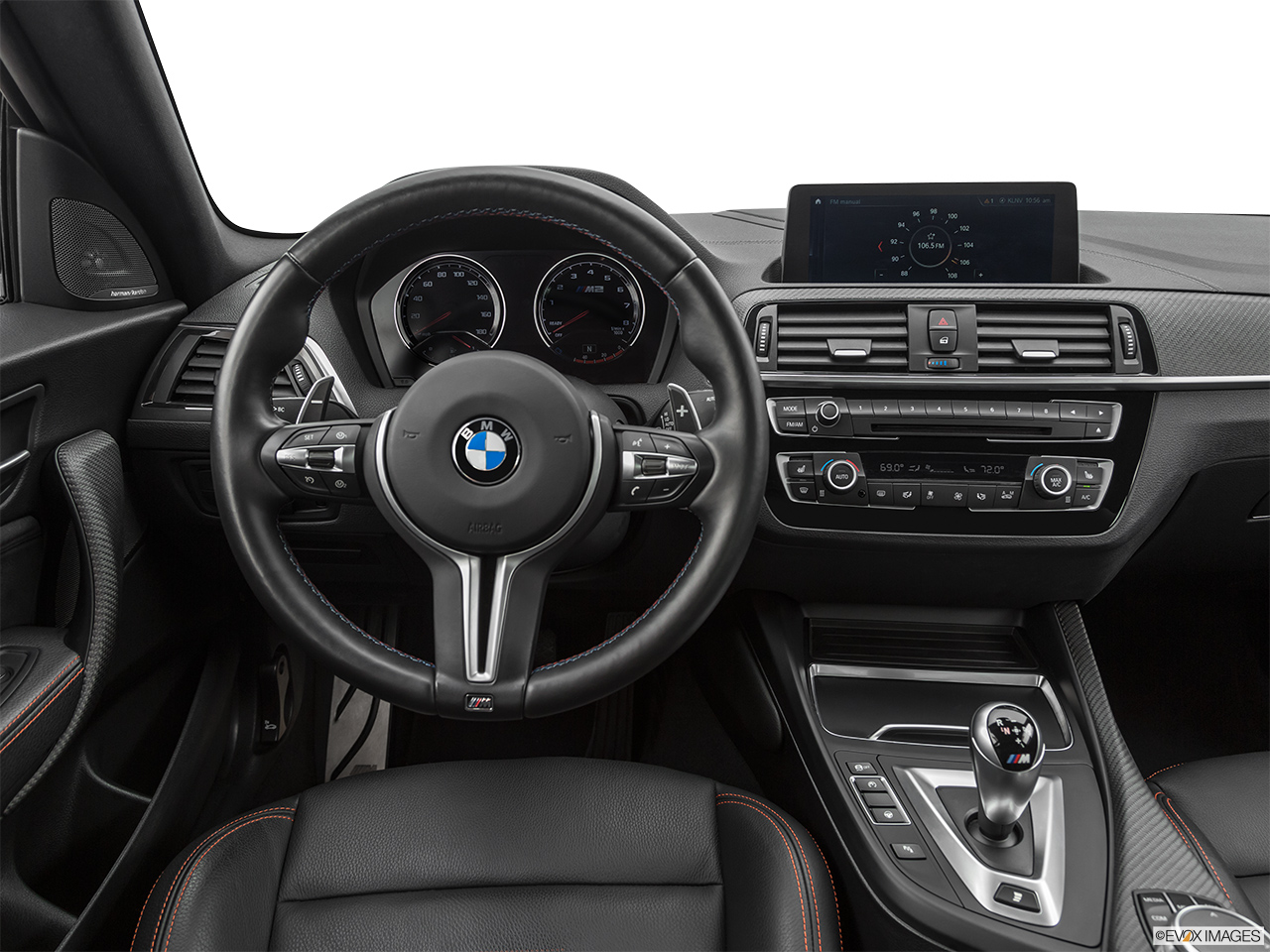 2020 BMW M2 Competition Steering wheel/Center Console.