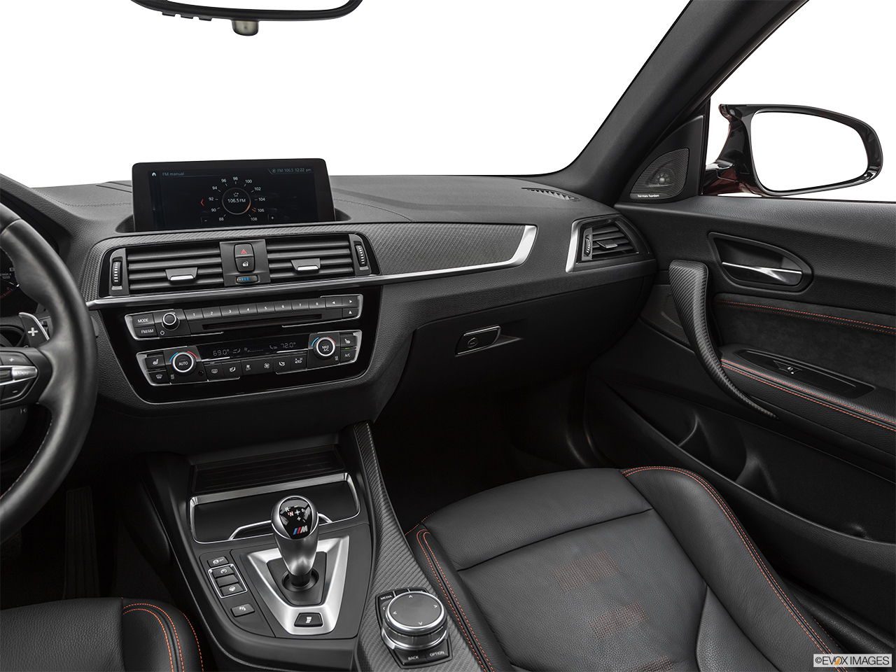 2020 BMW M2 Competition Center Console/Passenger Side.
