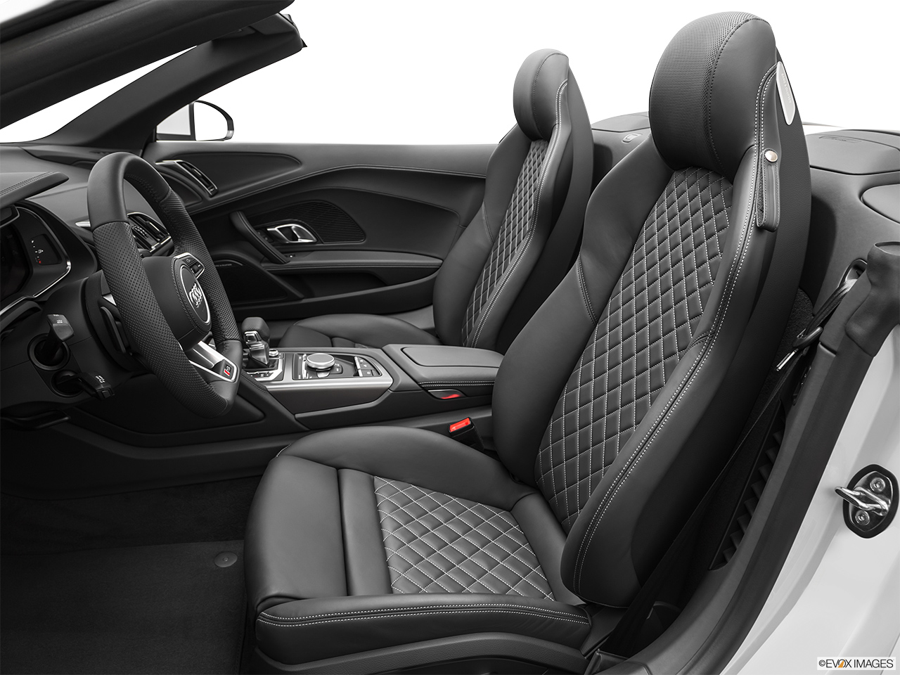 2020 Audi R8 Spyder V10 Front seats from Drivers Side.