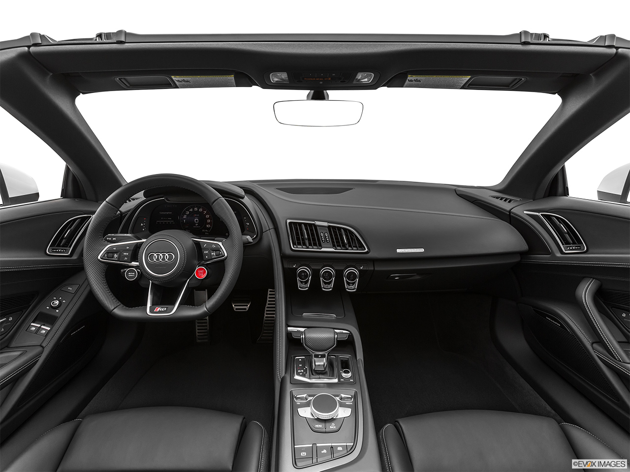 2020 Audi R8 Spyder V10 Centered wide dash shot